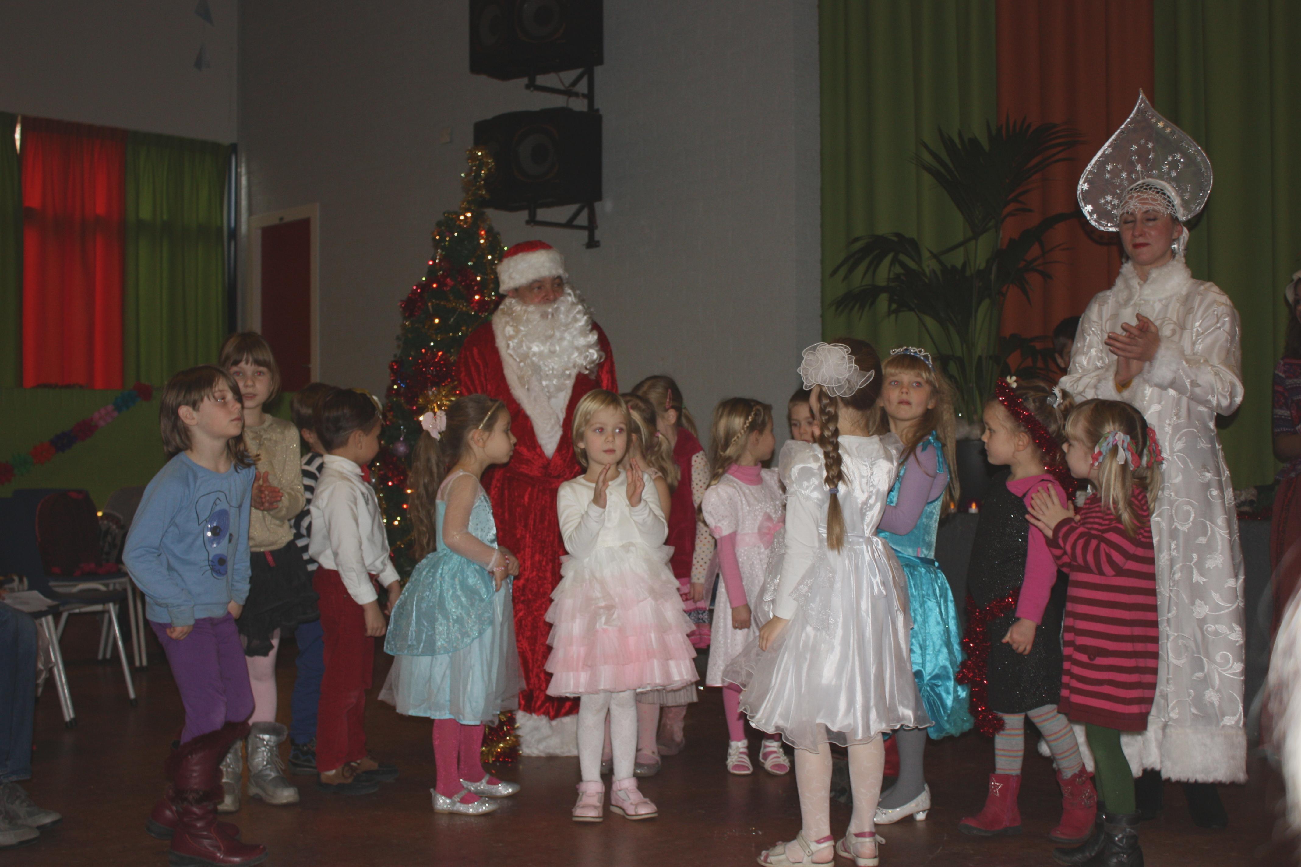 фото-сессия с Дедом Морозом и Снегурочкой